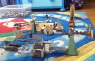 Paesaggio Lego