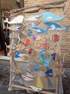 Pesci di legno