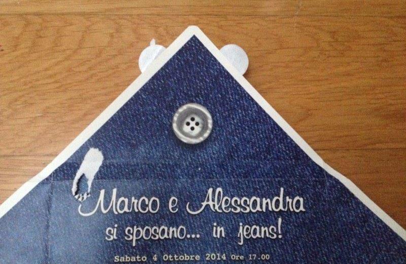 Al Matrimonio In Jeans : Matrimonio in jeans zucca zoe