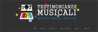 Testimonianze Musicali Ogni storia è importante anche la tua! - Google Chrome